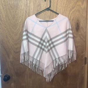 Authentic Burberry London exploded check cape